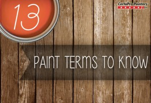 Paint Terms To Know Graphic